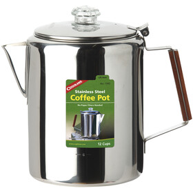 Coghlans Stainless Steel Coffee Pot 12 Cups